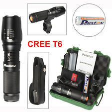 LED Flashlight 5000lm X800 CREE T6 Tactical Military Torch 18650 Battery Charger
