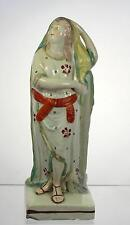 Antique c1820s Staffordshire Pottery Pearlware Figurine Emblematic of Hope