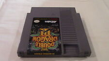 Double Dragon Iii 3 Nintendo NES Game Cartridge!