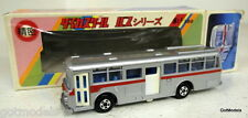 Aoshin (ASC) Giappone 1/100-N. 112 HINO RE120 Argento / Rosso Scala Model Bus