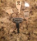 Vintage Honda OEM Factory Pre Cut Motorcycle Key # H9093