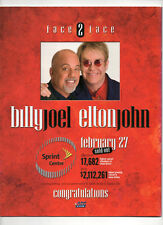 Pollstar Magazine Nico Vega / Billy Joel & Elton John Cover March 29, 2010