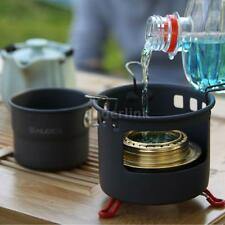 Cookware Portable Aluminum Oxide Outdoor Camping Cup Foldable Handles 150ml F9E4