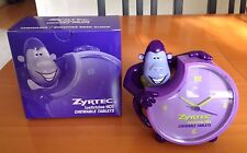 Collectible ZYRTEC Monkey Desk Clock - BRAND NEW IN ORIGINAL PACKAGING
