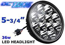 """5-3/4"""" LED HID Cree Light Bulb Crystal Clear Sealed Beam Headlamp Headlight Each"""