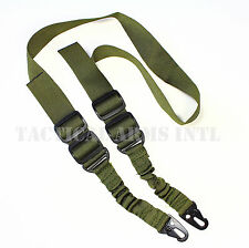 AR 15 AR-15 Tactical Dual 2 Two Point Bungee Sling Quick Release OD Green USA