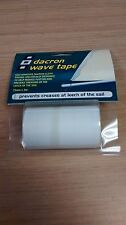 Dacron Wave Tape Leech Edging Cloth Sail Sailing Yacht  PSP3