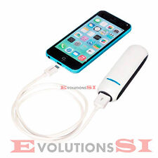 BATERIA EXTERNA UNIVERSAL POWER BANK 2600mAh PARA IPHONE ANDROID LG NOKIA