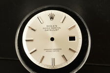 Genuine Rolex DateJust Dial Silver 2Tone Pie Pan Non Quickset 1601 1603 D0035