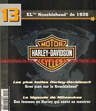 HARLEY DAVIDSON EL 1000 Knucklehead 1936 ; Femmes en HD MOTO