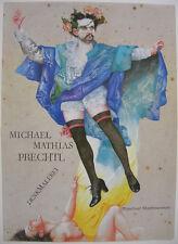 Michael Mathias Prechtl Denkmalerei Ludwig II. Orig. Offset Plakat 1980