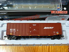 "Atlas HO #20002574  Trainman BNSF ACF 50' 6"" Box Car (Rd #725713)"