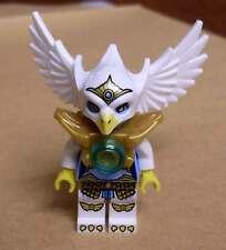 Lego Legends of Chima - Eris Figur Vogel weiss mit Flügeln und Maske Bird Neu