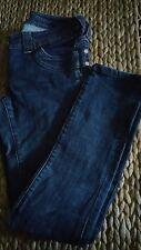 Size 8 RIVER ISLAND dark denim skinny jeans
