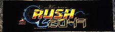 """San Francisco Rush 2049 Arcade Marquee 24.5"""" x 7"""""""