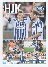 Orig.PRG    Europa League  2014/15   HJK HELSINKI - RAPID WIEN  !!  SELTEN