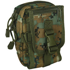 NEW Military Tactical Multi-Purpose Accessory MOLLE Gear Pouch MARPAT MARINE CAM