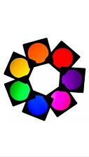 7 X PAR CAN 64 LIGHTING FILTER GEL THEATRE CLUB STAGE TV DJ DISCO COLOUR EFFECTS
