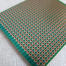 5x pcb 6.3x7.5cm Streifenraster Lochraster Platine Leiterplatte jointe Löcher