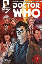 Dr. Who #1 the 10th Doctor - Heroes & Fantasies Comic Store Exclusive Variant