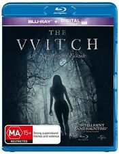 The Witch (Blu-ray, 2016) New and Sealed