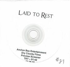 Laid to Rest promo screener Anchor Bay Entertainment 2009 Lena Headey