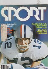 JAN 1977- SPORT vintage sports magazine - ROGER STAUBACH - COWBOYS
