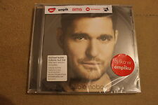 Michael Buble - Nobody But Me CD POLISH STICKERS