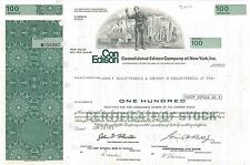 Consolidated Edison Company of New York   World Trade Center stock certificate