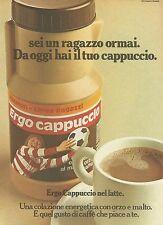 X7843 Ergo Cappuccio Plasmon - Pubblicità 1976 - Vintage Advertising