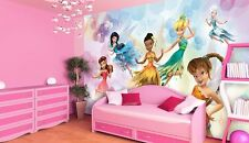 GIANT Murale Parete Foto Carta da parati per GIRL'S ROOM DISNEY FAIRIES TRILLY DECO