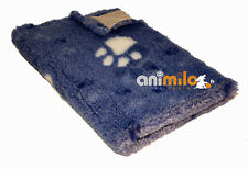Tapis Confortbed Vetbed Dry Extra bleu jean's à grosses pattes 50x75 cm , 26 mm