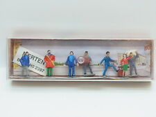 LOT 17941 | Merten HO Transportarbeiter & Gammler 1:87 Modellbahn Figuren in Box
