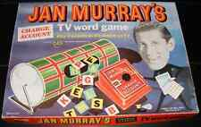1961 Jan Murray's Charge Account TV Word Game by Lowell