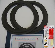 "12"" Foam Edge Speaker Subwoofer Surrounds Repair Kit For Sony"