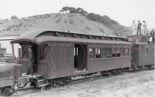 Pacific Coast Railway Wooden Passenger Car & Caboose No. 2 in 1938