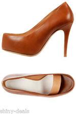 MAISON MARTIN MARGIELA 22 New Woman Brown Pumps Decollete Heel Shoes size 39 it