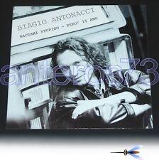 """BIAGIO ANTONACCI """"BACIAMI STUPIDO"""" RARO 12"""" MIX 1991"""