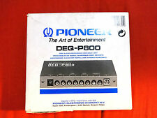 Processore audio Pioneer DEQ-P800 DSP Audio Processor boxed vintage