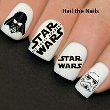 Nails WRAPS Nail Art Water Transfers Decals Star Wars Y769