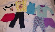CLOTHES LOT 18 Months Baby Girls CIRCO CARTERS GARANIMALS FRENCH TOAST KIDGETS