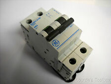 New GE D63 2-Pole Miniature Circuit Breaker, 63A 415V, Series G100, G102D63