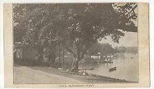 Cove, McPherson Point LIVONIA NY - Vintage New York Postcard