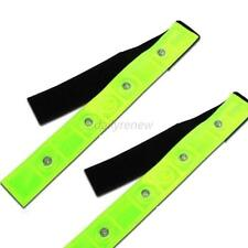 Safety Reflective Belt Strap Arm Band Outdoor Sports Night Cycling Running D85