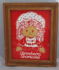 Vintage Strawberry Shortcake picture 12 x 10- Rare - OOAK?