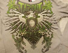 Tapout Men Shirt Sz XL Cement Gray