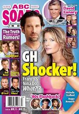 Roger Howarth, Michelle Stafford, David Canary - Jan. 18 2016 ABC Soaps In Depth