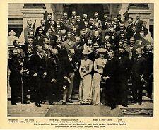 Olympiade - Die schwedischen Turner in Berlin Historical Memorabilia 1900