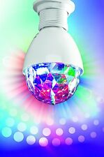 easy!maxx LED Party light Disco ball rotating Lamp