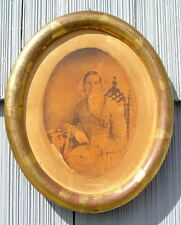 Rare Antique Victorian Gutekunst Pic w Aged Gold Gilt Benkert Picture Frame 8~10